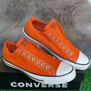 CONVERSE CTAS SLIP CAMPFIRE ORANGE/WHITE/BLACK MEN